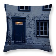 I'll Leave The Light On For You Throw Pillow by Edward Fielding