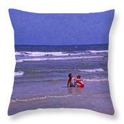 I'll Watch Over You Throw Pillow