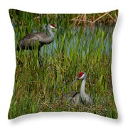 I'll Watch Over You. Throw Pillow