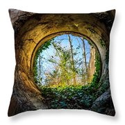 Illuminated Ivy Throw Pillow