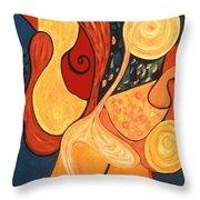 Illuminatus 4 Throw Pillow