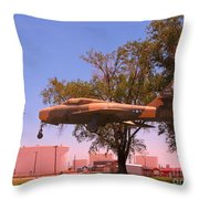 Illusion Of Flight Throw Pillow