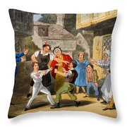 Illustration From The Life Throw Pillow