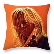 Ilse Delange Painting Throw Pillow by Paul Meijering