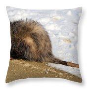 I'm A Possum Throw Pillow