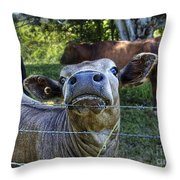 I'm All Ears Throw Pillow by Kaye Menner