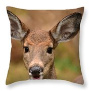 I'm Never Alone Throw Pillow