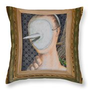 I'm Not A Therapist So I Can Talk About What I Can Talk About - Framed Throw Pillow