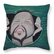 Im Not Insane It Is Greener Throw Pillow
