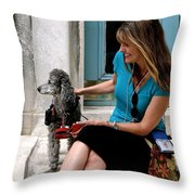 I'm Ready For My Closeup Mr. Demille Throw Pillow