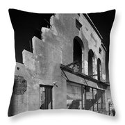 Im Still Standing Jerome Black And White Throw Pillow