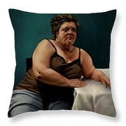 I'm Still Waiting To Sing Throw Pillow