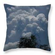 I'm Thinking Rain Throw Pillow