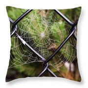 I'm Waiting Throw Pillow