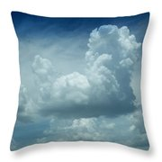 Image In The Sky Throw Pillow