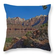 Image Of Zion 02 Throw Pillow