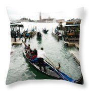 Images Of Venice 10 Throw Pillow
