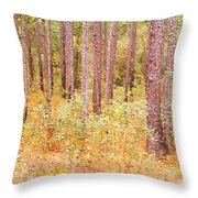 Imaginary Forest Throw Pillow