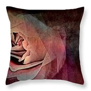 Imagination In Bloom Throw Pillow