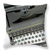 Imagination Typewriter Throw Pillow