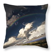Imaginative Environment With Large Throw Pillow