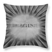 Imagine Zoom Throw Pillow