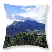 Imbabura Throw Pillow