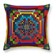 Imbroglio 2012 Throw Pillow