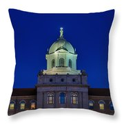 Immaculata University Throw Pillow