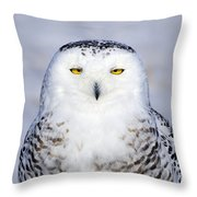 Immaculate Throw Pillow