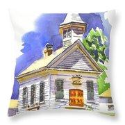 Immanuel Evangelical Lutheran Church Pilot Knob Missouri Throw Pillow