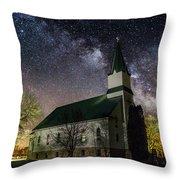 Immanuel Lutheran Church Throw Pillow