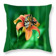 Immersed Throw Pillow