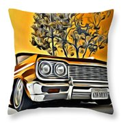 Impala Love Throw Pillow