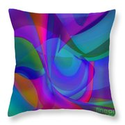 Impassioned Throw Pillow by ME Kozdron
