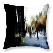 Impending Gloom Throw Pillow