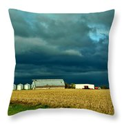 Impending Storm I Throw Pillow