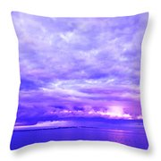 Impending Weather Throw Pillow