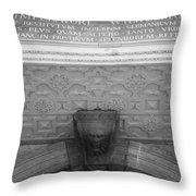 Imperatore Wilhelmo Cologne Germany Throw Pillow