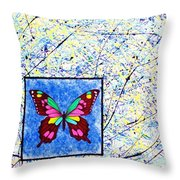 Imperfect I Throw Pillow by Micah  Guenther
