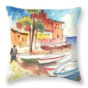 Imperia In Italy 01 Throw Pillow