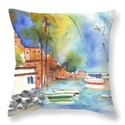 Imperia In Italy 02 Throw Pillow