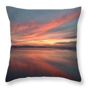 Imperial Fire Throw Pillow