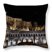 Imperial Forums Throw Pillow