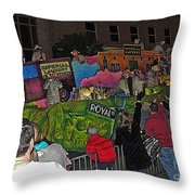 Imperial Laundry Throw Pillow