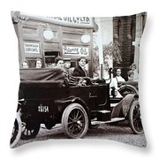 Imperial Oil Throw Pillow