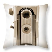 Imperial Reflex Camera Throw Pillow