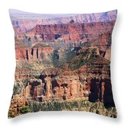 Imperial Towers Throw Pillow