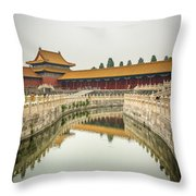 Imperial Waterway Throw Pillow