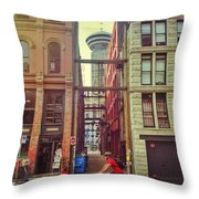 Importantly Gone Throw Pillow